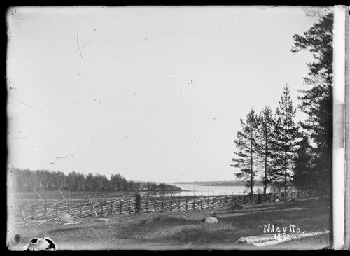 Loirin idylli konehuoneen kohdalla, Haapsaari, Koivusaari ja merenpoukama taustalla