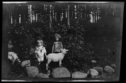 Tom ja Leif Simberg sekä Bunka Selkärannassa