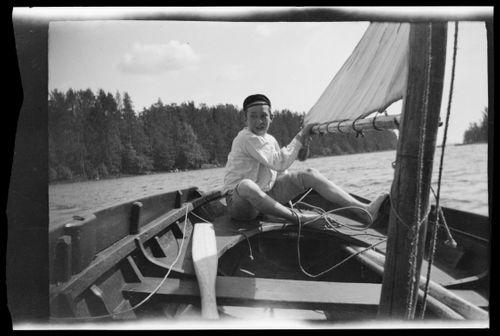 Guido Simberg ja Vita båten