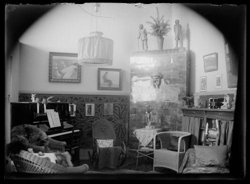 Hugo Simbergin ateljeekoti Luotsikadulla