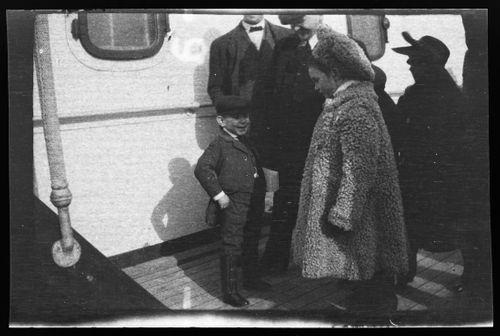 Matkustajia RMS Lusitanialla