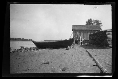 Kalastusvene todennäköisesti Lavansaaressa