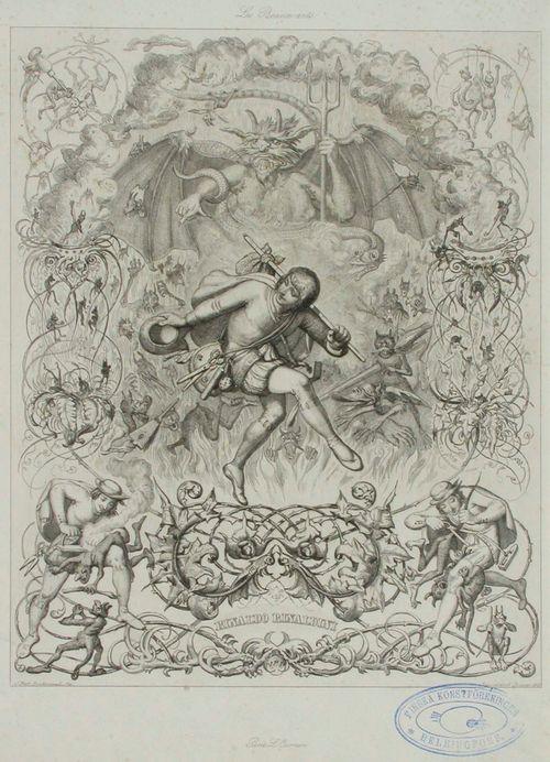 Rinaldo Rinaldini, runokuvitus, Les Beaux arts