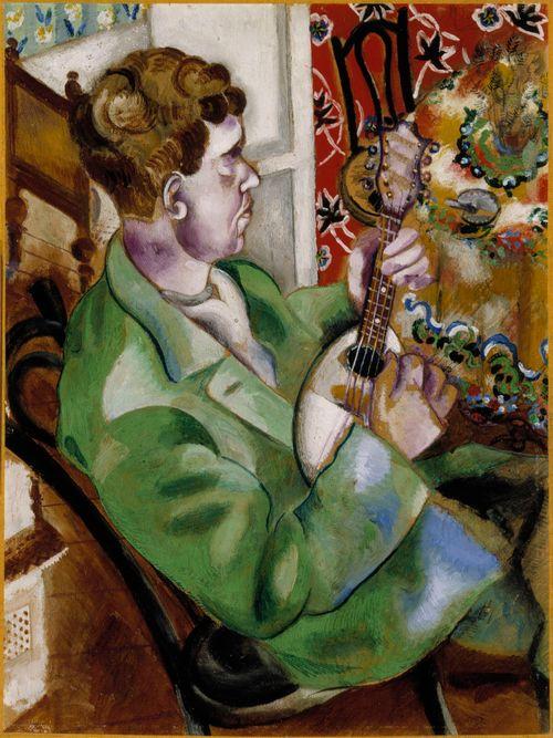Mandoliinin soittaja