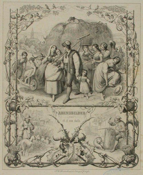 Abendbilder, G.F.von Salisin runoihin