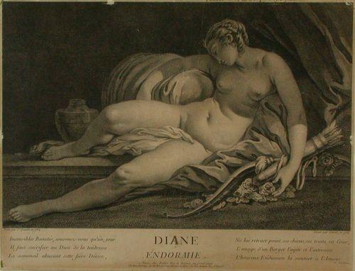 Nukkuva Diana