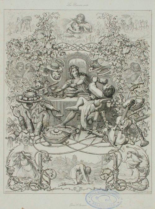 Les Beaux arts, allegoria