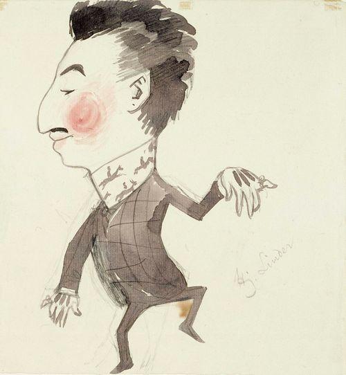 Karikatyyri Hj. Linderistä