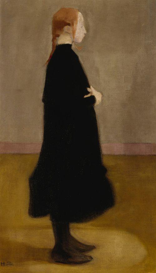 The School Girl II (Girl in Black)