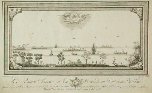 Les qutre saisons et la promenade au bord de la belle vue (1765-1796)
