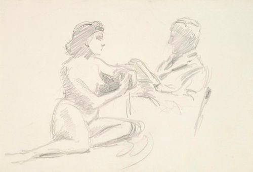 Alaston naismalli ja taiteilija