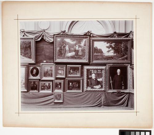 """""""Suomen Taideyhdistys 1846-1896"""", 50-vuotisjuhlanäyttely"""