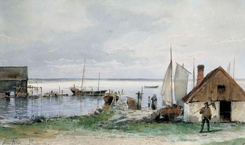 Kalastuspaikka Blekingessä