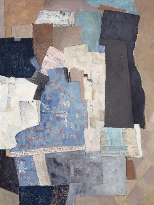 Sininen abstraktio