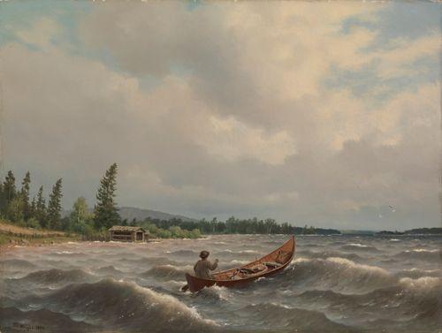 Savolaisvene järvellä