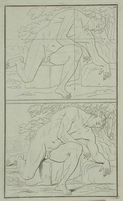 7. alastomia figureja piirustuksen opetusta varten