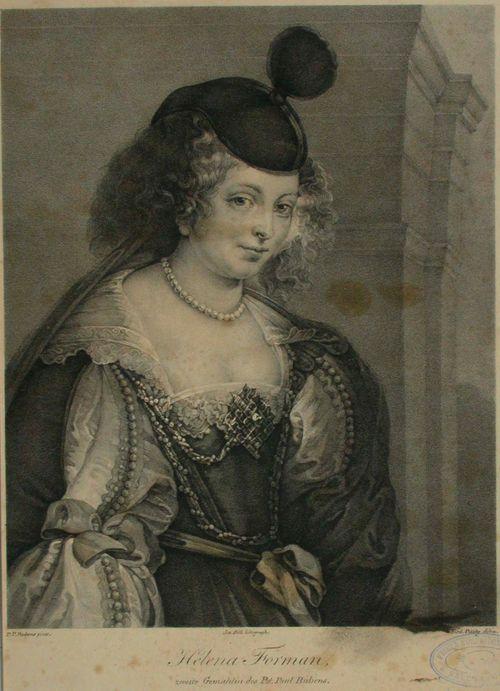 Rubensin toisen puolison Helene Fourmentin muotokuva