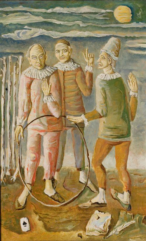 Kolme ilveilijää kuutamossa