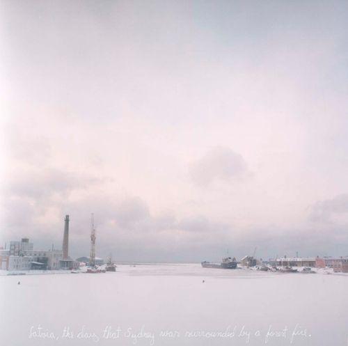 Otteita sääpäiväkirjastani: Latviasta samana päivänä kun tuli saartoi Sydneyn