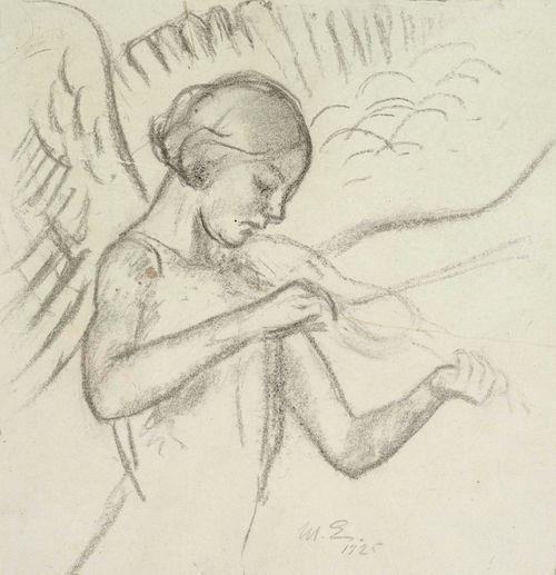 Viulua soittava enkeli