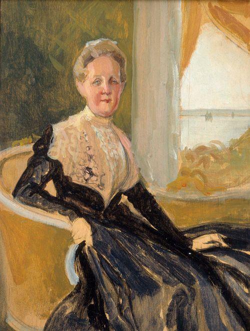 Kreivitär Elisabeth Wachtmeisterin muotokuva, sommitteluharjoitelma