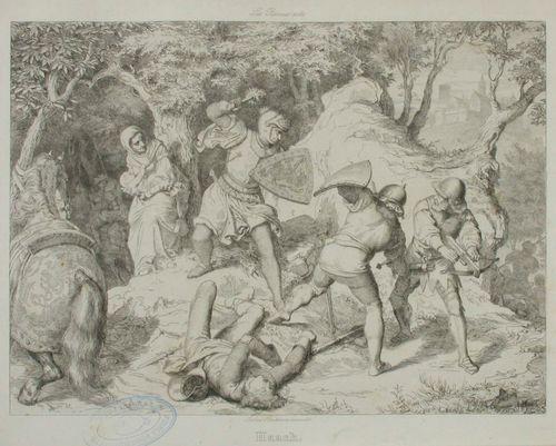 Fredrik (le Mordu) pakenee Wartburgin linnasta