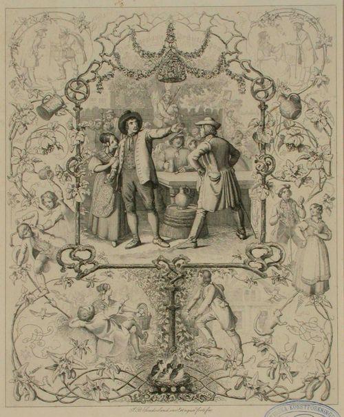 Runokuvitus, Der geplagte Bräutigam