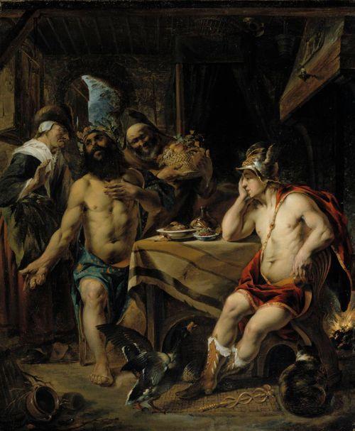 Jupiter ja Merkurius Filemonin ja Bauciin luona