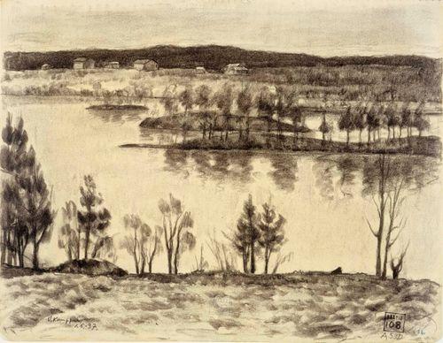 Kaiturinpää, järvimaisema
