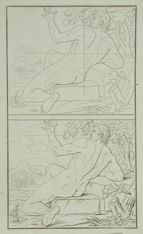 6. alastomia figureja piirustuksen opetusta varten