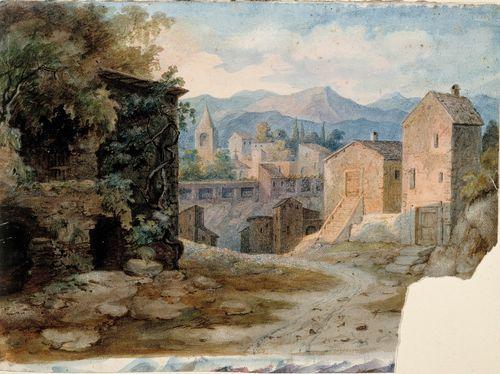 Italialainen vuoristokaupunki