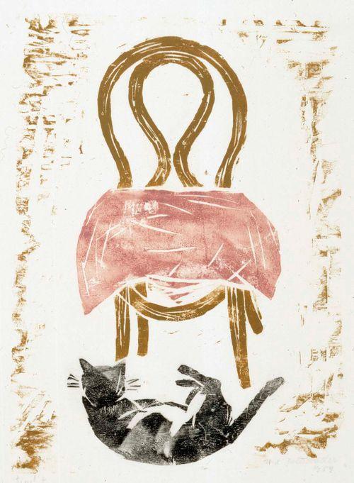 Kissa ja tuoli