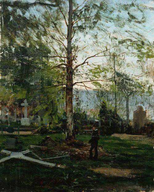 Werner Holmbergin haudalla