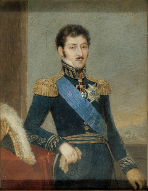 Oskar I kruununprinssinä