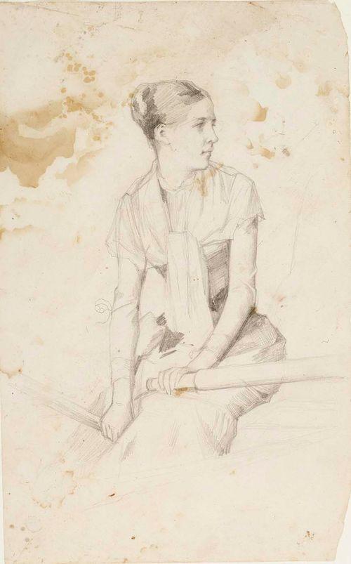 Nuori soutava nainen