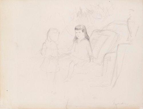 The Grand Dukes Kirill and Boris Vladimirovich as Children, Study