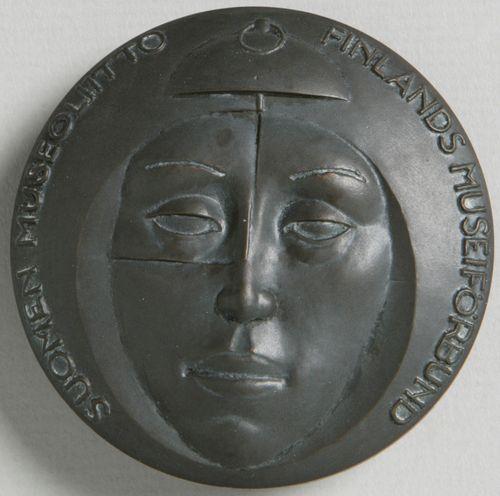 Suomen Museoliitto 1923-1973, 50-vuotismitali