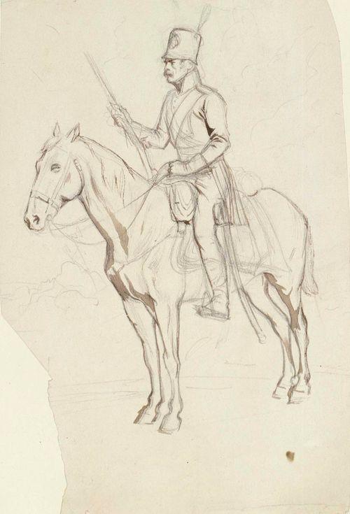 Sotilas ratsailla, Suomen sodan aikainen uniformu