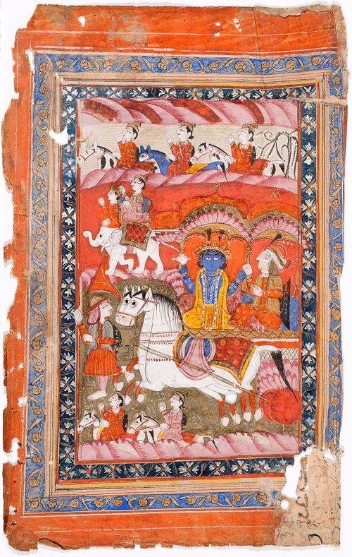 Hindujumala ratsailla