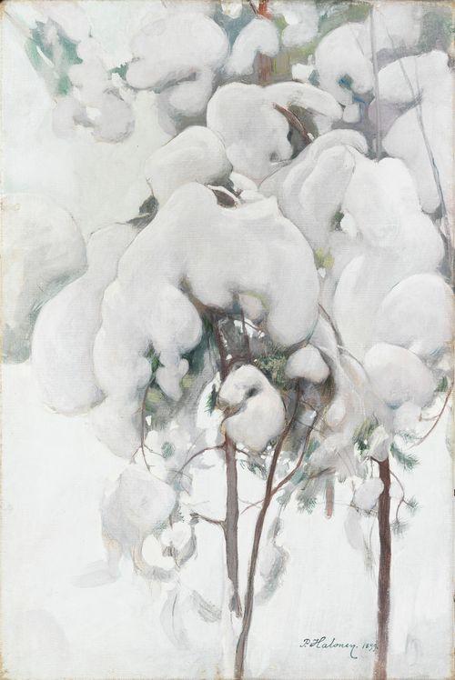 Lumisia männyntaimia