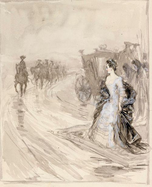 Aurora Königsmark odottaa Kaarle XII:ta