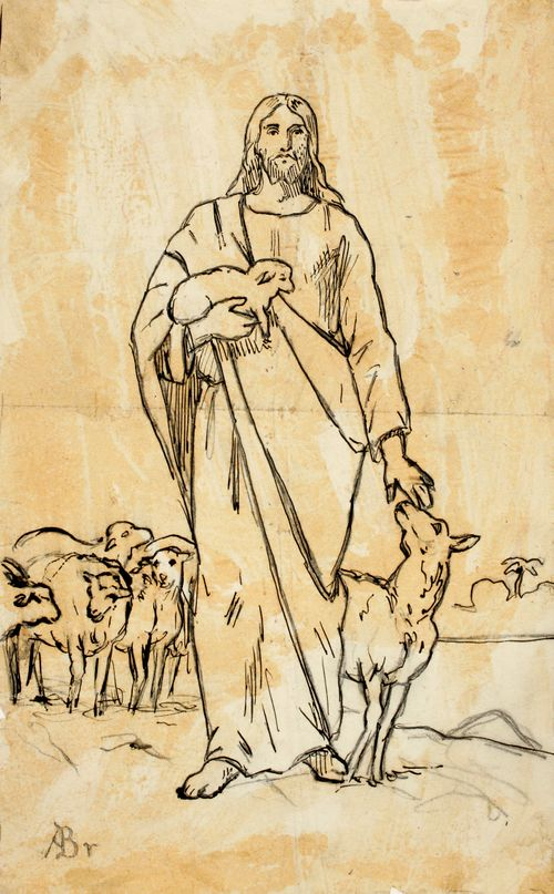 Kristus ja lampaat