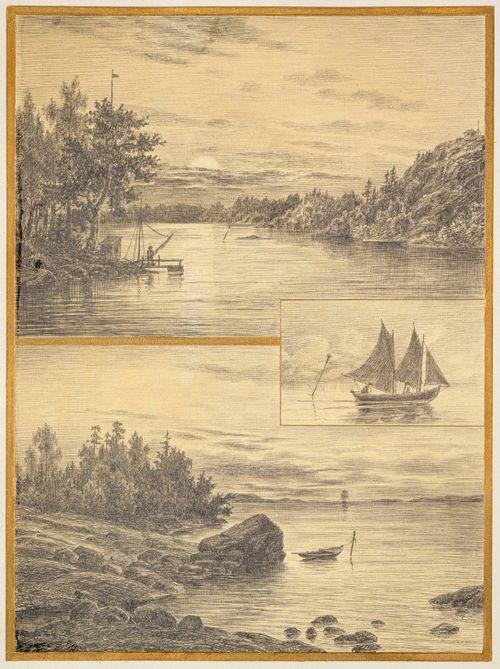 En segeltur i nyländska skärgården