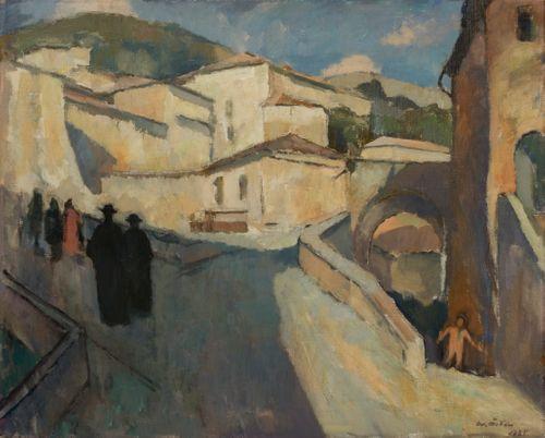 Kaupunkinäkymä Assisista