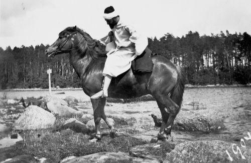 Hugo Simberg šeikkinä