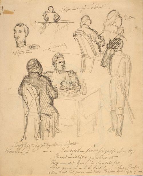 Sandelsin ja hänen adjutanttinsa kuvisusta