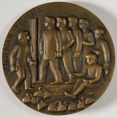 Seitsemän veljeksen 100-vuotismitali