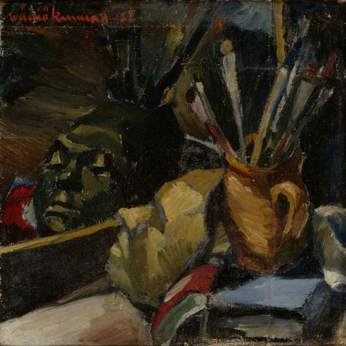 Still-Life with the Self-Portrait