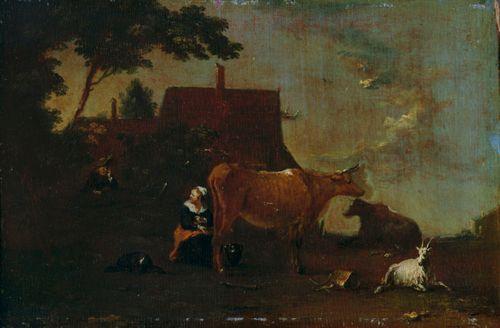 Lehmää lypsetään