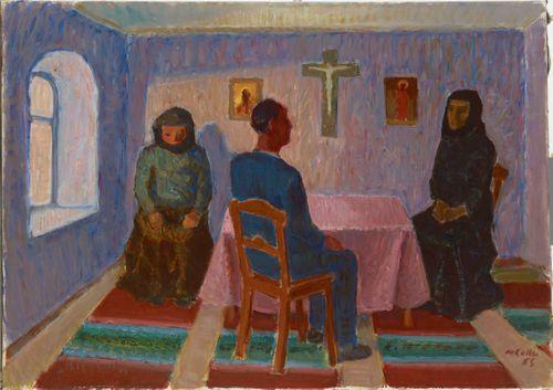 Luostarissa